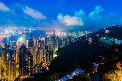 Hong Kong from above (BilderMaennchen) Tags: bildermaennchen bildermaennchencv nikon d4 d4s hkg city citynight nights skyline ilovetravelling