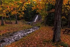 Haven Falls, Lac La Belle, Michigan (Cole Chase Photography) Tags: keweenawpeninsula upperpeninsula michigan autumn waterfall october fall foliage