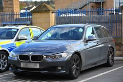 Unmarked Traffic Car (S11 AUN) Tags: west yorkshire police wyp bmw 330d 3series estate touring unmarked anpr traffic car rpu roads policing unit 999 emergency vehicle