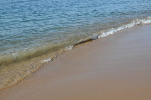 At the Praia do Tamariz