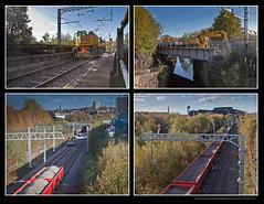 N.R. Line Possession on the GC line at Templeborough, for Tram/Train work - 5166+168+171+174 (Views in Camera) Tags: templeborough networkraillinepossession freightliner class66 66547 66544 6y33 66515 6y31 holmesjunctiontototonnorthyard colasrail class60 60054 6c80 tinsleysouthjunctiontototonnorthyard gcr greatcentralrailway mslr manchestersheffieldandlincolnshirerailway templeboroughbiomassfacility tramtrainsystem riverdon ssyn sheffieldsouthyorkshirenavigation magnascienceadventurecentre icklesviaduct steelpeechtozerltd firthrixonmetalsltd rotherhammainsignalbox sheffieldsupertram ohlequipment carillionplcltd oldroad northmidlandrailway rotherhamcentral holmeschord holmesjunction newyorkstadium sheffieldpsb signals0748 mxalobsterwagons ywasleeperwagons firthrixonmetalfabricators quattroroadrail