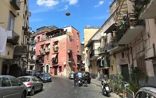 Street scene in Naples, Italy