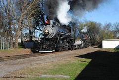 On the ole CofG (Joseph S. Randall) Tags: chattanooga tennessee tennesseevalleyrailroadmuseum tvrm southernrailway southern630 southern4501