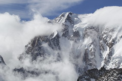 Ice and clouds (fata_ci) Tags: skyway puntahelbronner nuvole ghiaccio ice courmayeur valdaosta