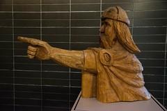 DSC_8630 (Copy) (pandjt) Tags: roadtrip unitedstates usa hjemkomstinterpretivecenter hjemkomstcenter carving woodcarving viking sculpture moorhead minnesota