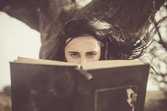 The Stories We Could Tell (i-r-paulus) Tags: fairytale books reader faerytale magical model brunette dartmoor moody vintagelens helios442 legacylens tree storyteller story