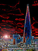 A Red Sky at Night (Steve Taylor (Photography)) Tags: redsky shard art architecture digital blue black red contrast uk gb england greatbritain london unitedkingdom sky cloud