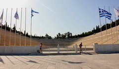 Panathenaic Stadium (ika_pol) Tags: athens acropolis greece ancientgreece ancientruins ancient antiquity geotagged