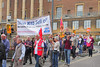 March through Norwich against the Public Sector pay cap poster size no 2 (Roger Blackwell) Tags: march protest protesters protestmarch demonstration demonstrators norwich norwichdemonstration publicsector tradeunion tradeunionists tradeunions workers solidarity banners band placards