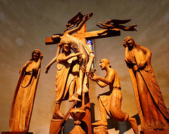 Deposition of the Cross (saveriosalvadori) Tags: vicopisano art scultura sculpture pisa medievalart church