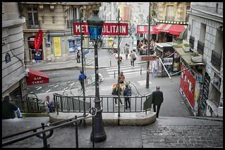 Station Lamarck-Caulaincourt * Paris