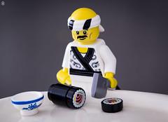 Sushi Time (Jezbags) Tags: lego legos toys toy canon60d canon 60d 100mm closeup upclose macro macrophotography macrodreams macrolego ninjago sushi