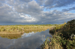 Gujan - 09/10 (alouest225) Tags: paysage alouest225 sony rx100m3 gironde aquitaine france bassindarcachon gujanmestras cloudsstormssunsetssunrises sky