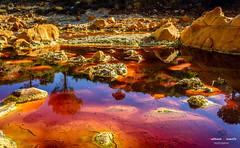 Rio Tinto, un mundo de colores. (Antonio Camelo) Tags: nikon roca rock reflections reflejos rio river huelva españa andalucia