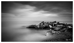 Guadalmina Beach B&W (jesbert) Tags: guadalmina beach playa malaga marbella spain españa andalucia sony a7r2 nd filter long exposure larga exposición blanco y negro black white water agua