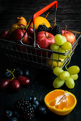fruit basket (ChicqueeCat) Tags: fruits food stilllife nikon d3300 closeup
