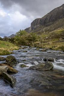 Afon Nant Peris in the Llanberis Pass