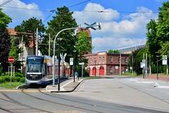 Schkeuditz 2017 – Schkeuditz loop (Michiel2005) Tags: schkeuditz loop tram strasenbahn streetcar lvb 1220 sachsen saxony saksen deutschland duitsland germany