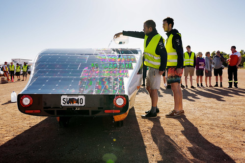 World Solar Challenge dag 5