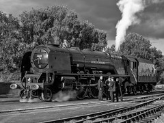 MRC2017-25 (Dreaming of Steam) Tags: 6233 46233 duchess duchessofsutherland heritage heritagerailways lms midlandrailwaycentre princesscoronation princesscoronationclass railway stainer steam steamengine sutherland train vintage engine locomotive railroad smoke steamlocomotive