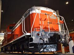 JNR Class DD51 diesel-hydraulic locomotive of 1972 (SteveInLeighton's Photos) Tags: october 2017 japan locomotive museum kyoto narrowgauge railroad railway diesel hitachi jnr