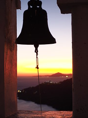 Sunset....bell..... (klentosharry) Tags: moment colour olympus hellas sunset bell greece