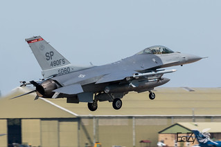 96-0080 United States Air Force Lockheed Martin F-16CM Fighting Falcon