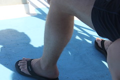 (LarryJay99 ) Tags: canon60d canon legs flipflops thighs men male man guy guys dude dudes manparts sexyguys sexy sexymen nicelegs toes malefeet hairylegs flickr