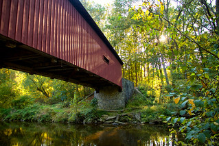 Classic Pennsylvania - Kurtz's Mill Covered Bridge