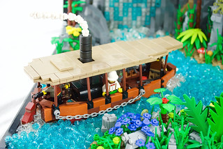 Amazon river boat Slow Nellie