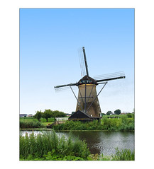 IMG_8314 (Ravi - 3R) Tags: kinderdijk thenetherlands windmills iphone summer unesco heritage cycling bike shootoniphone