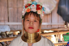 Beautiful Kayan lady - Northern Thailand (cattan2011) Tags: thailand woman people culture longnecktribe kayantribe traveltuesday travelbloggers travelphotography travel streetpicture streetphoto streetphotography streetart portrait landscapeportrait 泰国