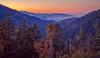 Giant Forest National Park (Juan Pablo J.) Tags: view sunrise color landscapes sky naturephotography canon5dmkii canon24105mmf4l california sequioanationalpark