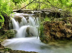 Waterfall Ruidera (Peideluo) Tags: cascada aguaenmovimiento naturaleza longexposure nature water waterfall landscape agua bosque roca río
