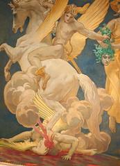 MFA Pegasus and Medusa (Jay Costello) Tags: art mfa museumoffinearts boston massachusetts museum medusa pegasus wingedhorse snakehead snakes