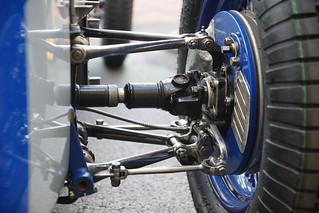 Rear Suspension MG R Type
