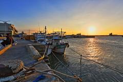 Sunset (js hsu) Tags: 夕陽 南寮 新竹 台灣 nanliao hsinchu taiwan sunset habor 漁港 南寮漁港 canon canon6d