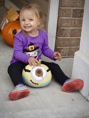 Little Minions (donna_0622) Tags: minion pumpkin painting toddler kids halloween craft nikon d750