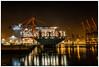 Großstadthafen HH (Dieter Gora) Tags: hamburg hafen waltershof container schiff ship haven harbour harbor port