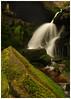 Waterfall at Bleaklow, oil paint(10) (S.R.Murphy) Tags: fujixt2 landscape march2017 middleblackclough peakdistrict woodhead nature water waterfall oilpaintfilter photoshop longexposure rock moss fujixf1024mm flickrexplore