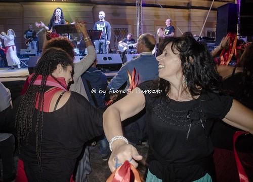 San Tammaro (CE), 2017, La Notte della Tammorra nella Reale tenuta di Carditello.