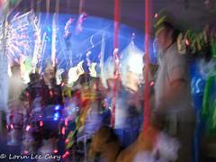 Carnival (lorinleecary) Tags: otherkeywords night streetshots lasvegas motion carnival nevada ferriswheel streetscenes