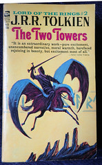 The Lord of the Rings 2 - The Two Towers (Gwydion M. Williams) Tags: books bookcovers british usa acebooks tolkien lordoftherings thetwotowers