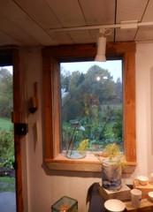 Studio window (chasdobie) Tags: window studio rural field indoor lookingout art ceramics frame lanarkcounty ontario canada nikon
