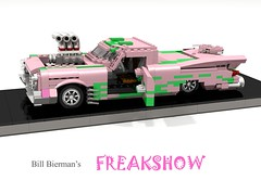 Bill Bierman's FREAKSHOW (lego911) Tags: bill bierman freakshow chevrolet chev chevy mod modified show rod usa america custom c10 chrysler classic 1960s truck pickup auto car moc model miniland lego lego911 ldd render cad povray lugnuts challenge 120 happy10thanniversarylugnuts happy 10th anniversary by request