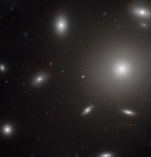 Hubble Catches Galaxies Swarmed by Star Clusters