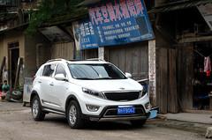 Kia Sportage R (rvandermaar) Tags: kia sportage r kiasportager kiasportage china guizhou liping