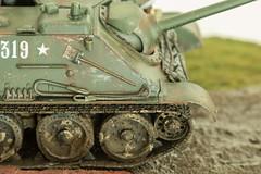 Kursk, 1943 diorama (1/35 scale) (tik_tok) Tags: tamiya scale model 135 masterbox russian germany worldwar2 ww2 war scalemodel plastic kits kursk 1943 diorama figures tank spg su85 gpa ford