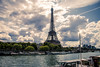 Eiffel Tower (Téo Correas) Tags: eiffel tower sunset soleil homme statue paris parisian parisianphotography photo canon 70d urban tour la seine pont des arts parisien