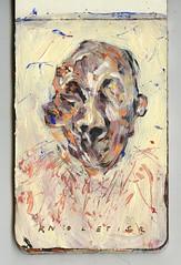 F A N T A S M A S  / en busca del tiempo perdido (PabloQuerea) Tags: painting art artbrut paint pórtrait